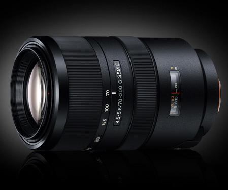 70-300mm F/4.5-5.6 G SSM II - новый телезум Sony