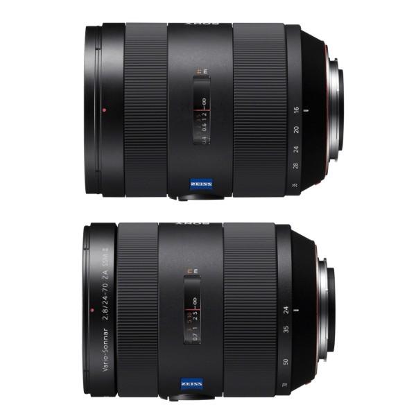 Sony представила 2 зум-объектива pro-класса под A-mount