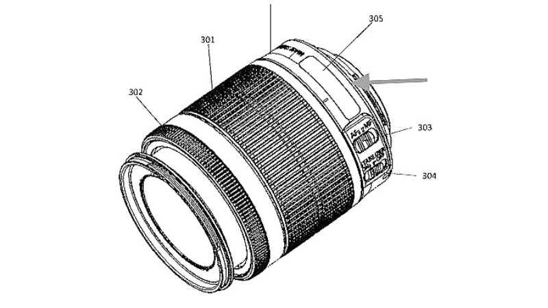 Новая версия популярного объектива Canon 18-55mm получит ЖК-дисплей?