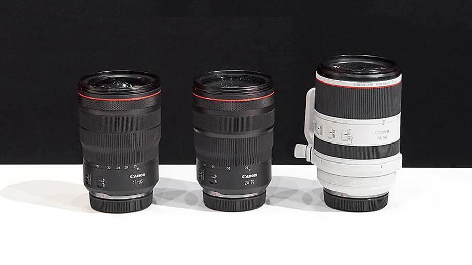 Canon анонсирует три зума для EOS R в июле?