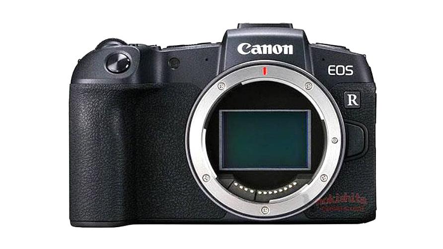 Появились первые фотографии Canon EOS RP и обновленные спецификации