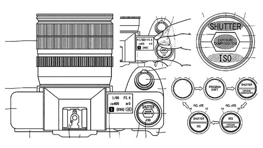 Камеры Fujifilm получат сенсорный верхний дисплей управления?