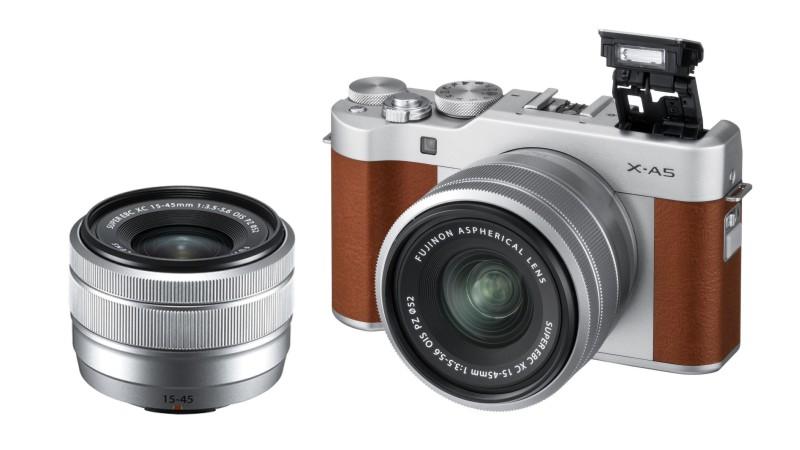 Анонсированы Fujifilm X-A5 и Fujinon XC 15-45mm f/3.5-5.6 OIS PZ