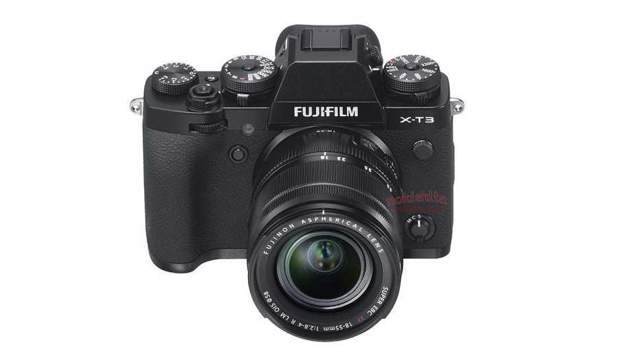 Fujifilm X-T3 появится 25 сентября