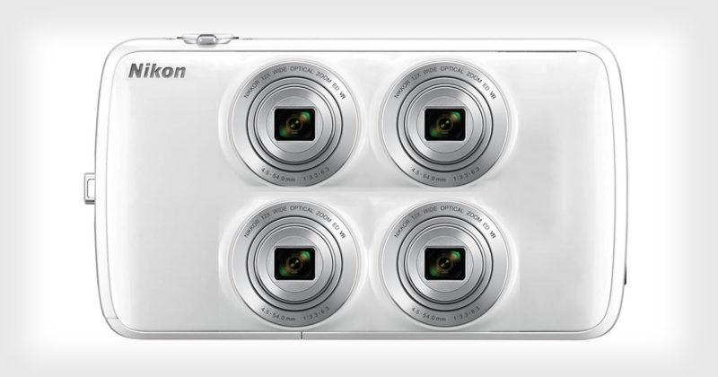 Nikon разрабатывает камеру с 4-мя объективами и 4-мя датчиками?