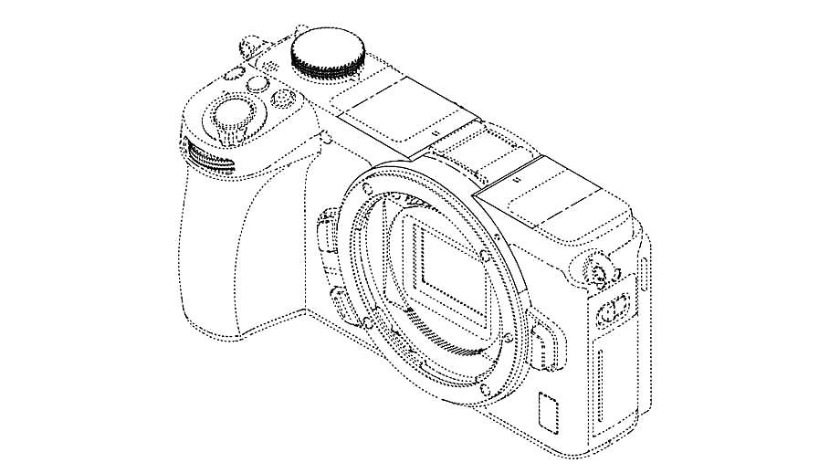 Патент на беззеркальную APS-C камеру Nikon Z?