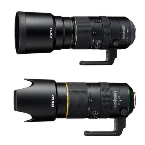 Ricoh официально представит HD Pentax-D FA 70-200mm F/2,8 и 150-450mm F/4.5-5.6