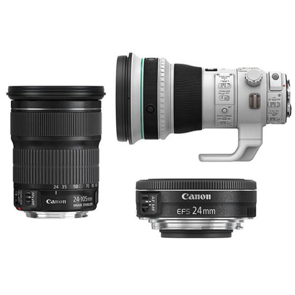 Первые изображения новых объективов Canon