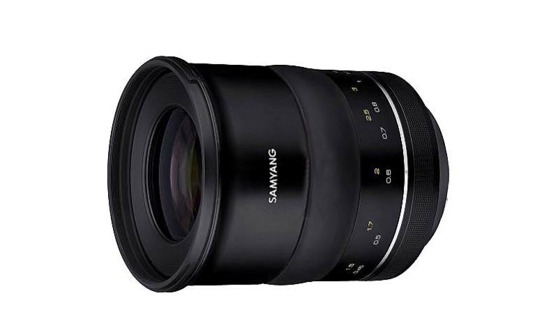 Появились первые изображения нового Samyang XP 50mm f/1.2 lens