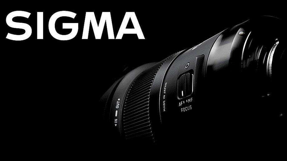 Sigma анонсирует 4 объектива под полный кадр?