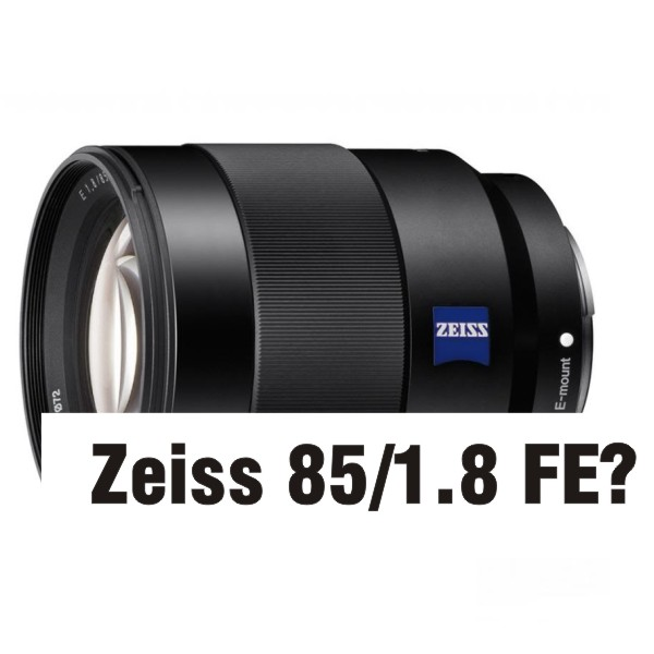 Sony анонсирует Zeiss 85/1.8 FE и A5100 перед Photokina