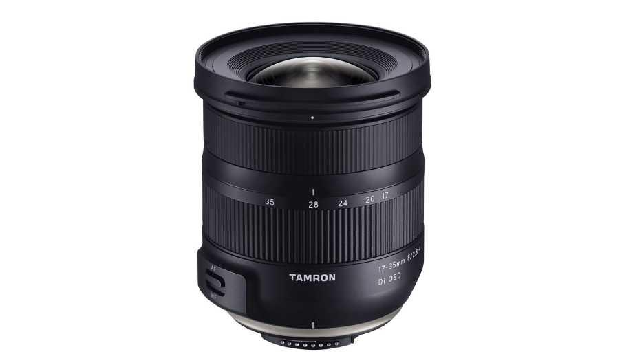 Объектив Tamron 17-35mm f/2.8-4 Di OSD для Canon и Nikon на подходе