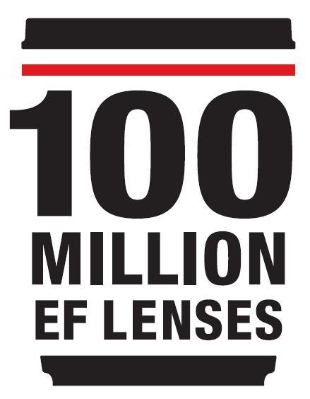Canon - первая в мире компания, выпустившая 100 миллионнов сменных объективов