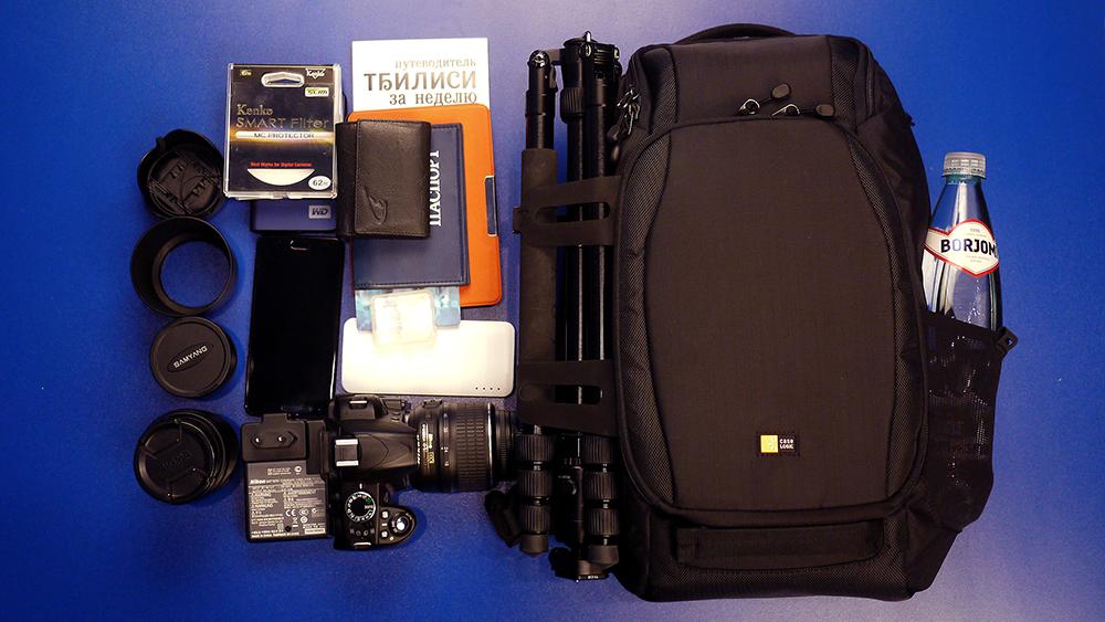 Case Logic Luminosity – недорогой вариант профессионального фоторюкзака