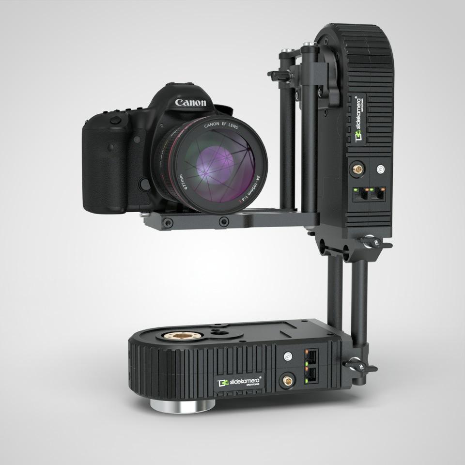 Двухосевая панорамная голова SlideKamera c системой управления X-Drive