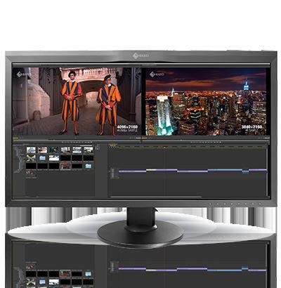 EIZO анонсировала новый профессиональный 4К монитор