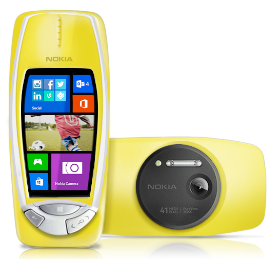Снова Nokia 3310, но c камерой 41МПк и объективом Zeiss