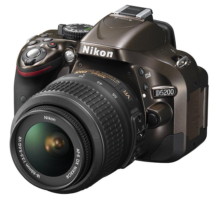 Интерактивный тест Nikon D5200