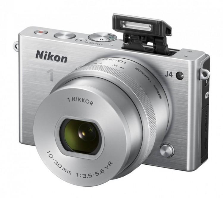 Nikon представил очередную системную камеру Nikon 1 J4