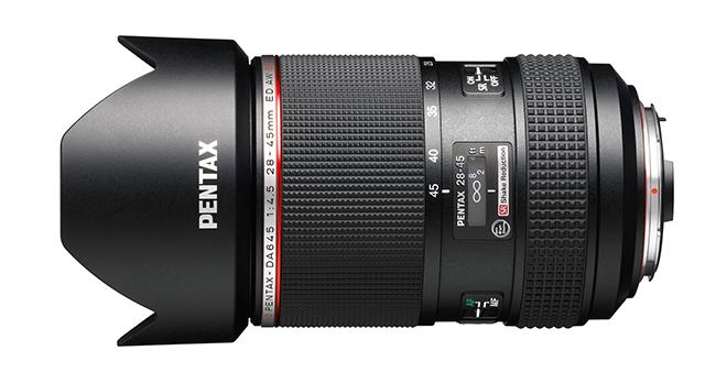 HD Pentax-DA645 28-45mm - новый зум  для среднего формата