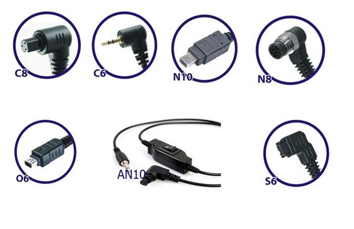 Совместимость кабелей Phottix