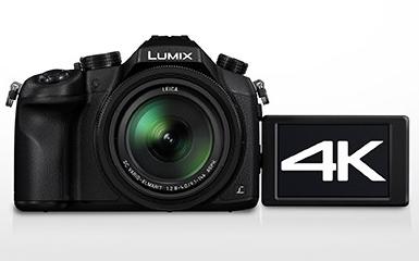 Panasonic представил LUMIX DMC-FZ1000 с возможностью съемки видео 4K