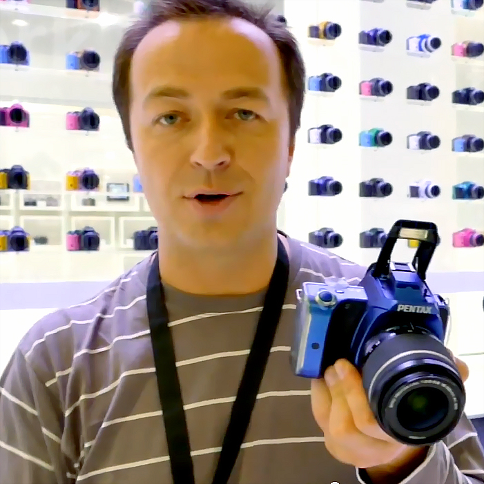Новинки Ricoh Pentax на выставке Photokina 2014. Видеообзор