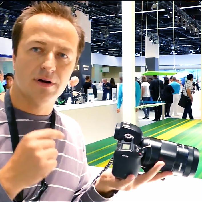 Новинки Samsung на выставке Photokina 2014. Видеообзор
