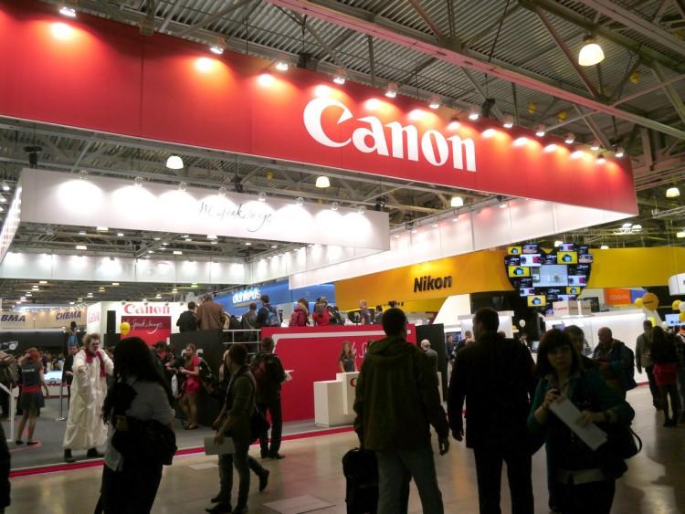 Стенд Canon на CEP-2013 (Фотофоруме)