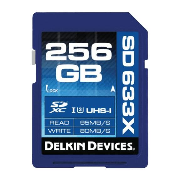 SD-карты Class 10/U3 Delkin емкостями 128 и 256 Гб