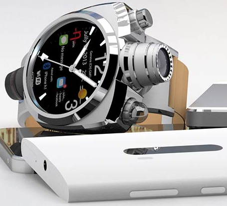 Анонсированы часы Hyetis Crossbow с камерой 41 МПкс и кольцевой LED-вспышкой