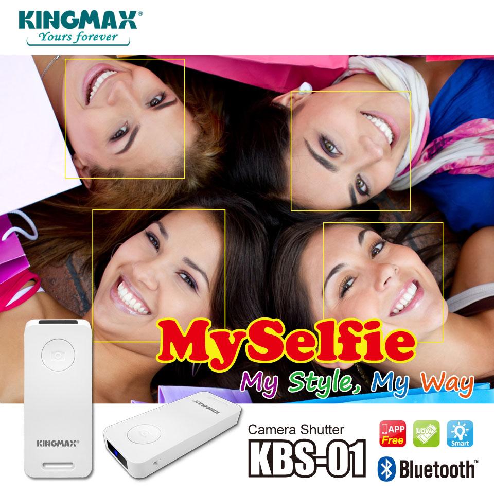 Kingmax представила новое для компании устройство – пульт для фотосъемки MySelfie