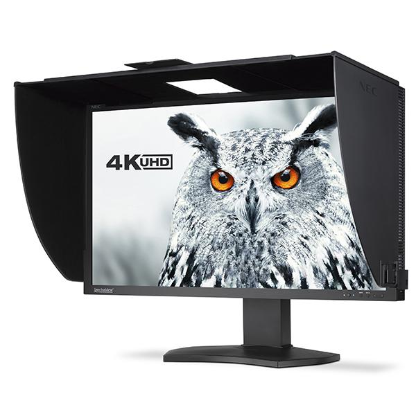 NEC начинает продажи pro-монитора SpectraView Reference 4K UHD