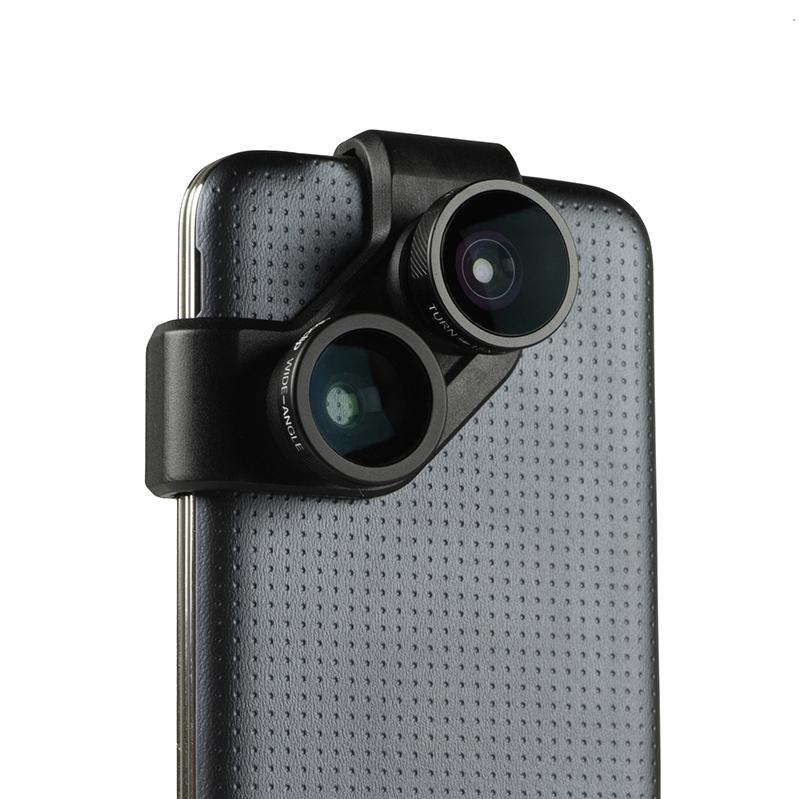 Olloclip представил комплект объективов для Samsung Galaxy S4 и S5