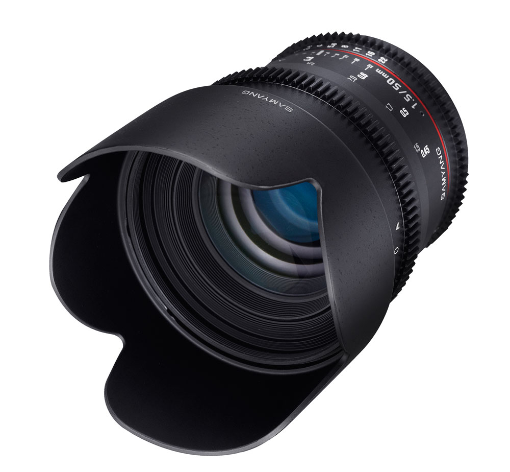 Samyang представил объектив  50 mm T1.5 AS UMC