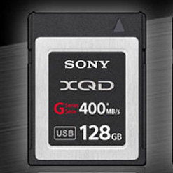 Sony анонсировала карты памяти XQD  со скоростью записи 350 Мб/c