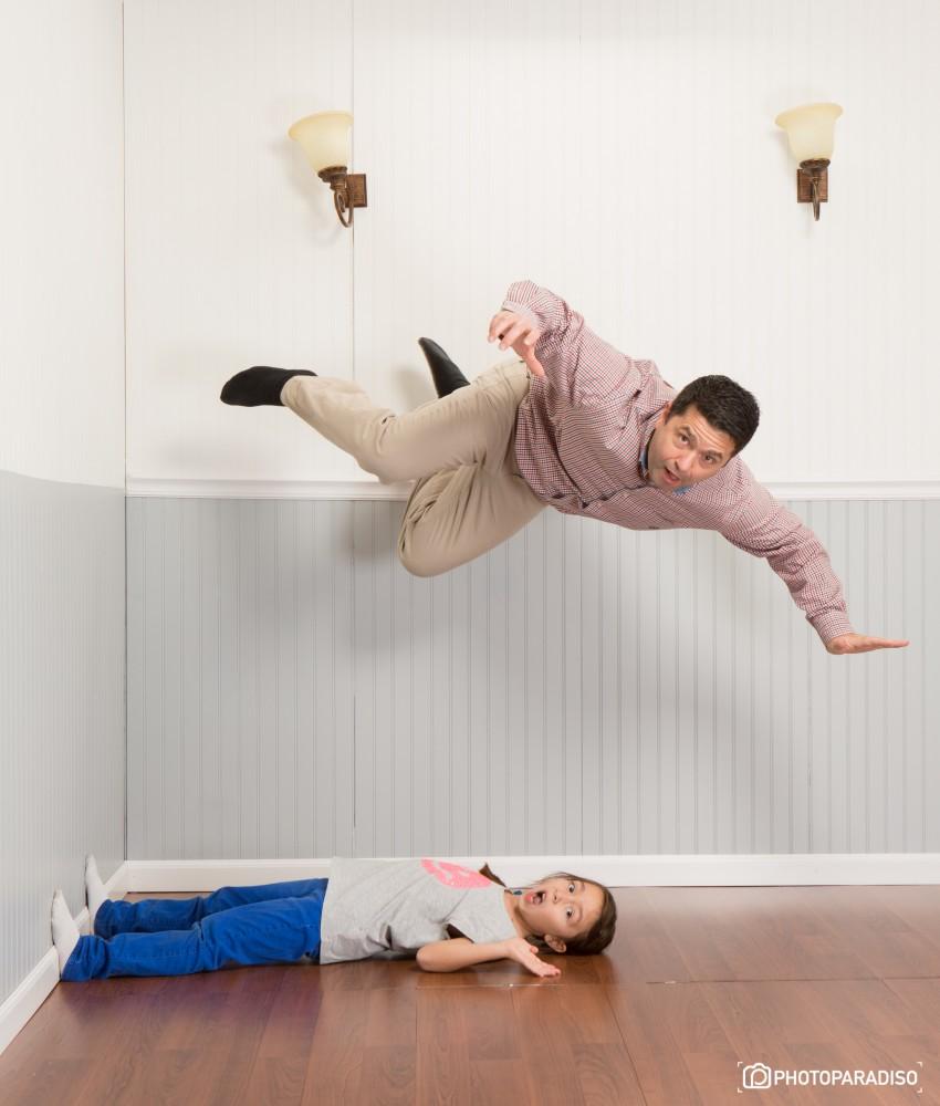 """Джеф Парадизо. Как сделать """"антигравитационные"""" семейные снимки?"""