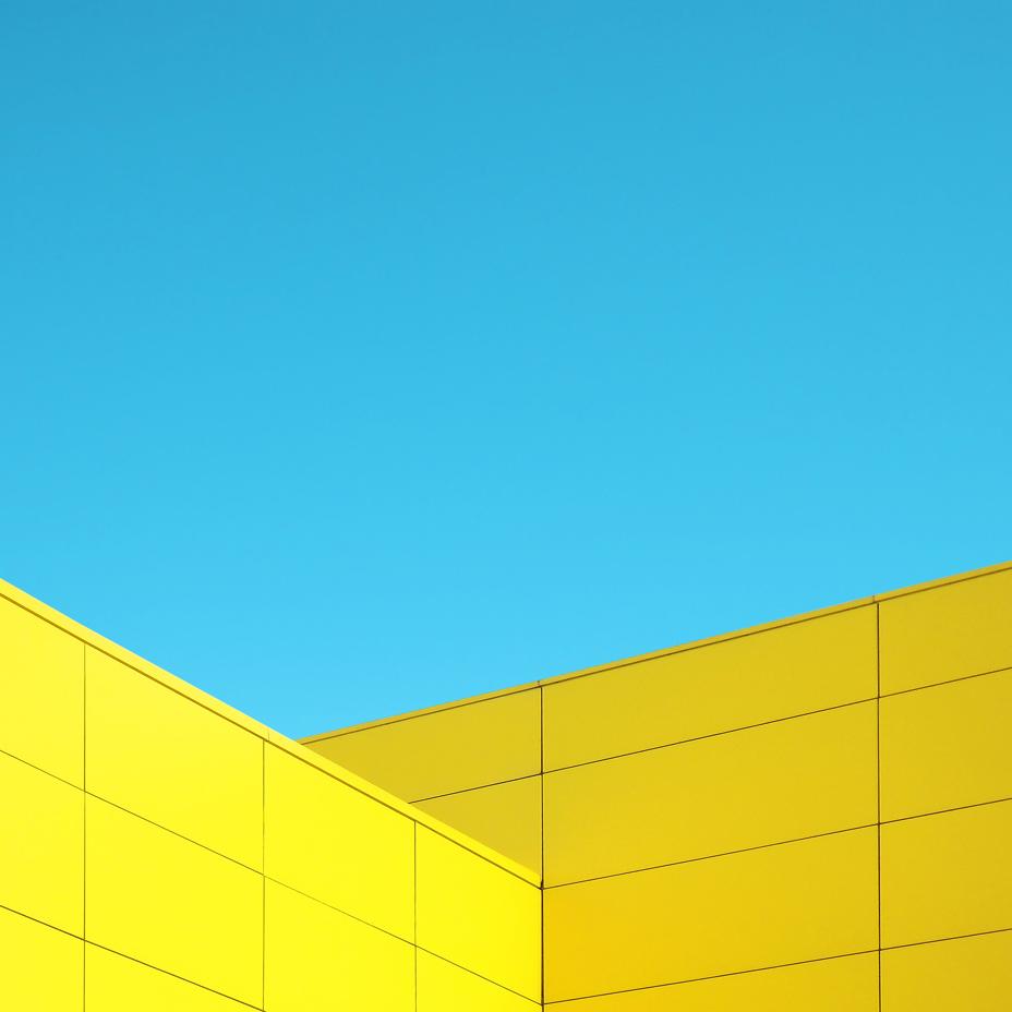 Лино Руссо. Skymetric - красочный минимализм объединения архитектуры и неба