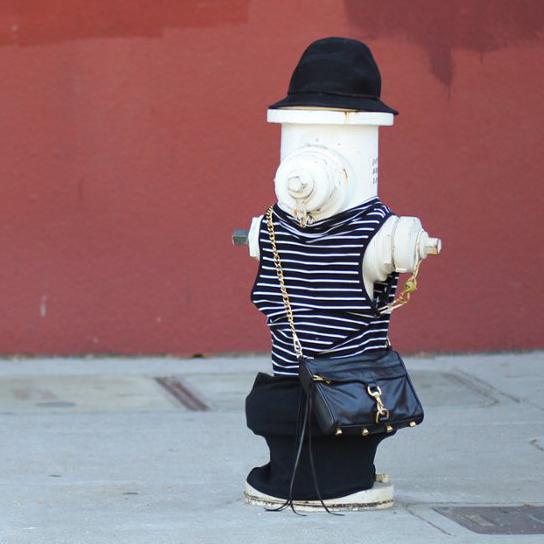 Забавные фото из серии 'Literal Street Style' об уличной моды