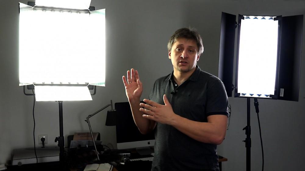 Дешевый или профессиональный свет для съемки видео. Тест