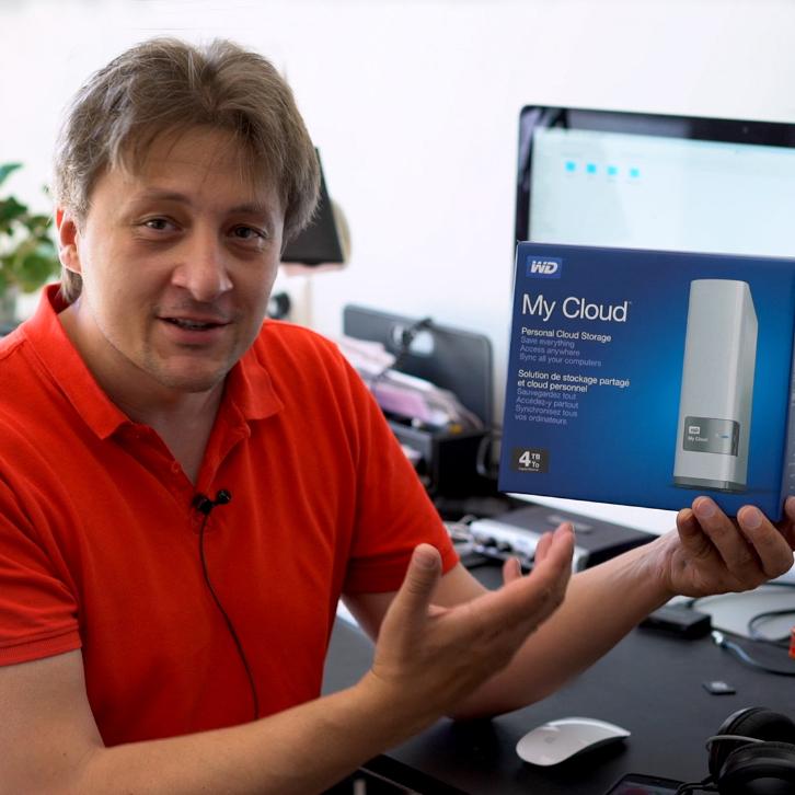 WD My Cloud, облачное хранилище файлов для фотографа. Обзор