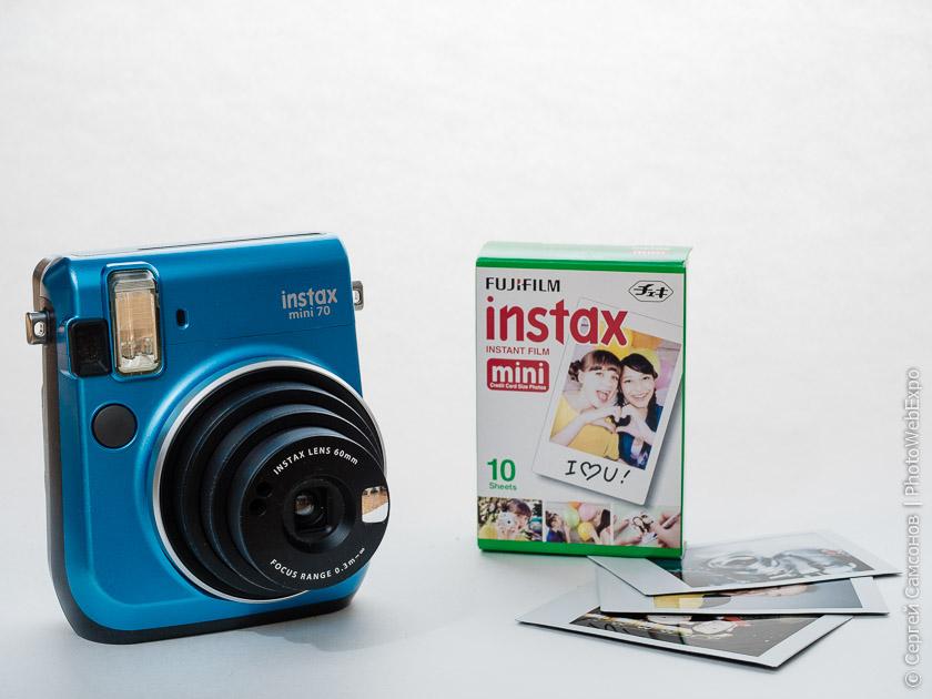 Тест Fujifilm Instax mini 70