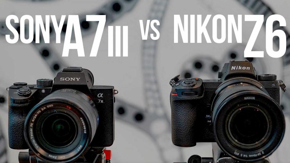 Sony A7III vs Nikon Z6. Сравнение видеовозможностей
