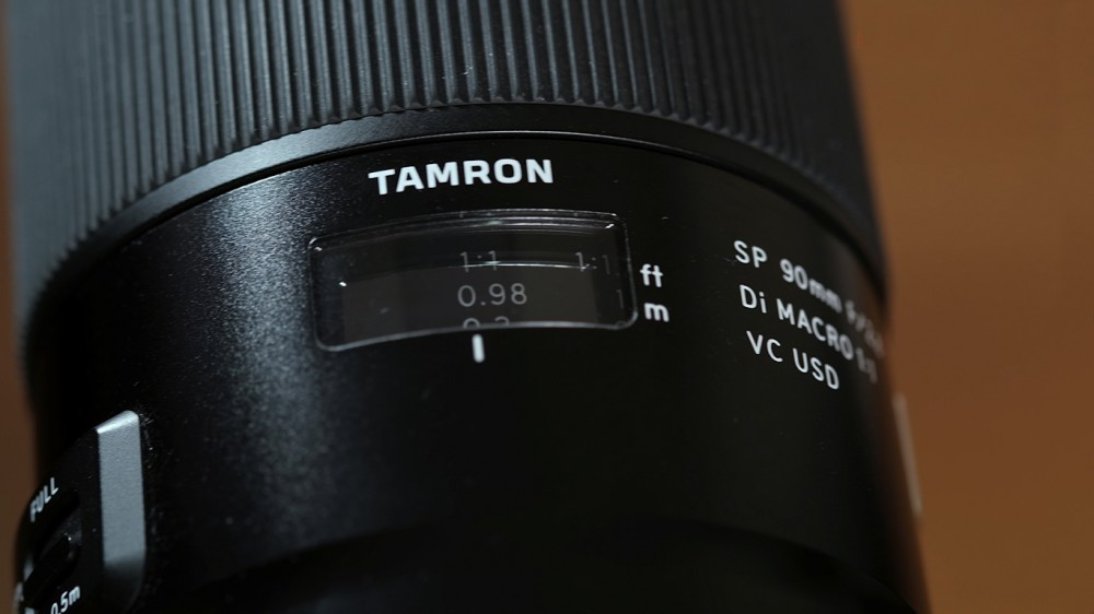 Tamron SP 90 mm f/2,8 Di MACRO 1:1 VC USD. Обзор