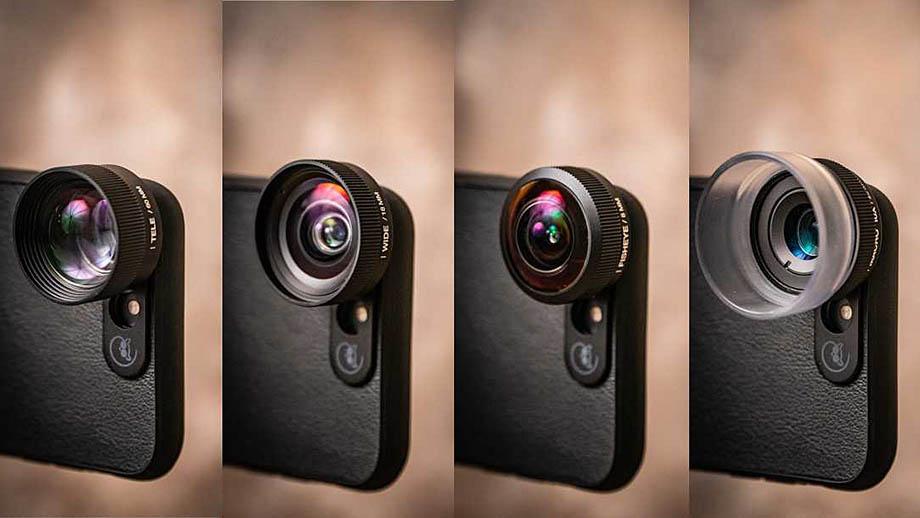 Lemuro, объективы для смартфонов