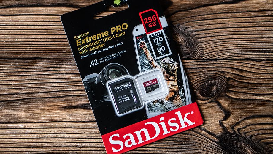 Тест карты SanDisk Extreme Pro microSD 170MB/s 256GB