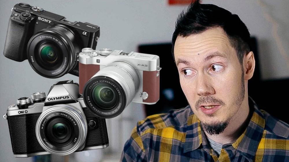 Камера для путешествий: Sony а6000, Olympus OMD EM10 m2 и Fujifilm X-A3. Тест