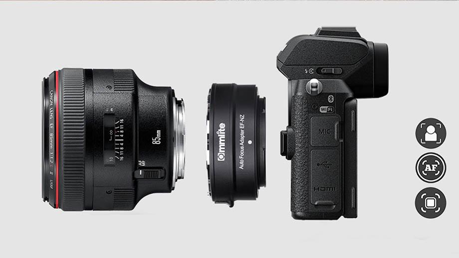 Адаптер Commlite EF-NZ для оптики Canon EF на Nikon Z. Обзор