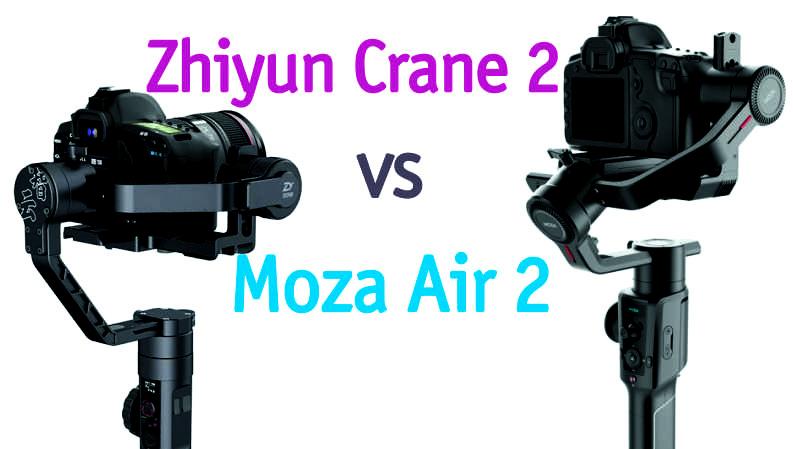 Zhiyun Crane 2 vs Moza Air 2. Тест-сравнение стабилизаторов