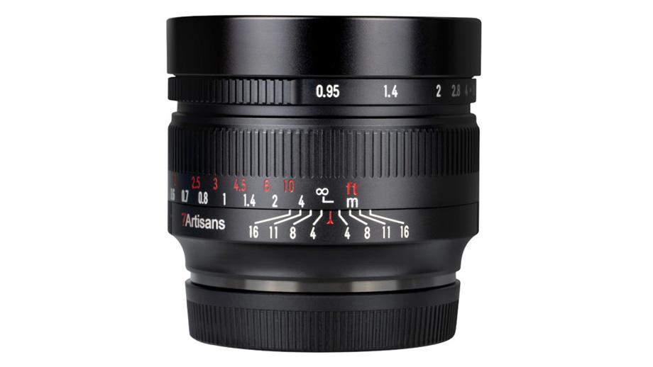 7Artisans выпустила полтинник 50mm f/0.95 для APS-C камер